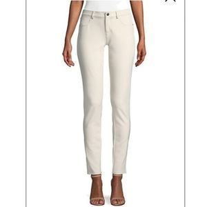 NWT Lafayette Mercer Coated Stretch Pants